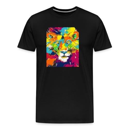 Abstrakt Tier - Männer Premium T-Shirt