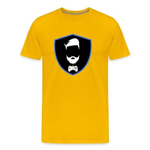 Kalzifertv-logo - Herre premium T-shirt
