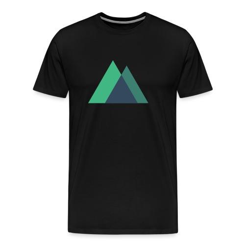 Mountain Logo - Men's Premium T-Shirt