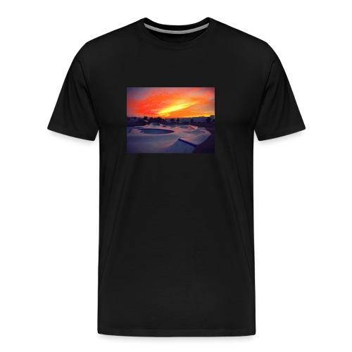 Skate park chill - Camiseta premium hombre