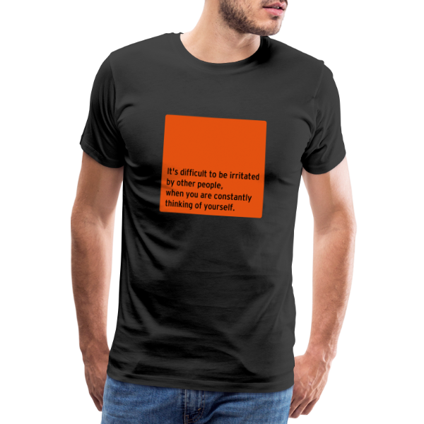 Thinking of Yourself - Men's Premium T-Shirt