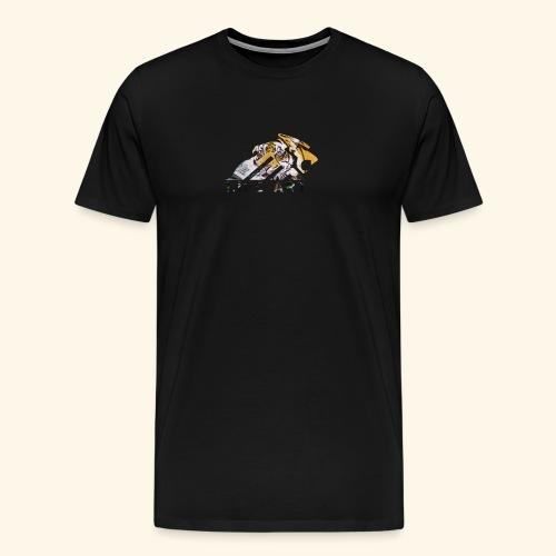 Logo tigre Life art - Maglietta Premium da uomo