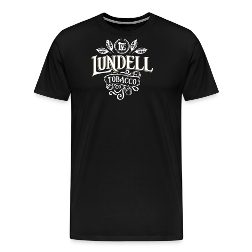 LUNDELL TOBACCO LOGO With Shadow - Premium-T-shirt herr