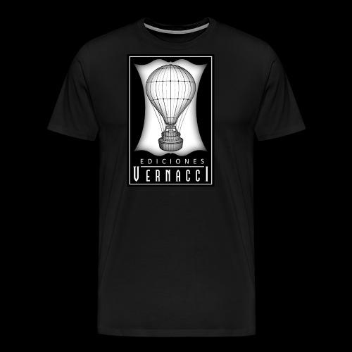 logotipo de ediciones Vernacci - Camiseta premium hombre
