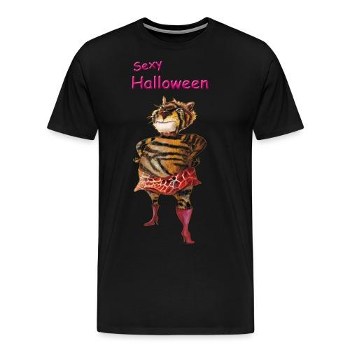 Halloween | sexy Tiger - Männer Premium T-Shirt
