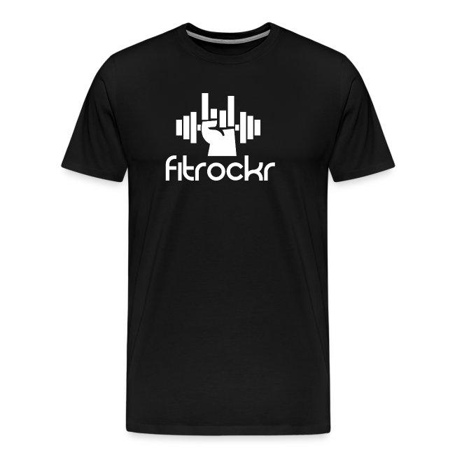 Fitrockr Logo Weiß