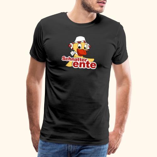 Schnatterinchen Schnatterente - Männer Premium T-Shirt