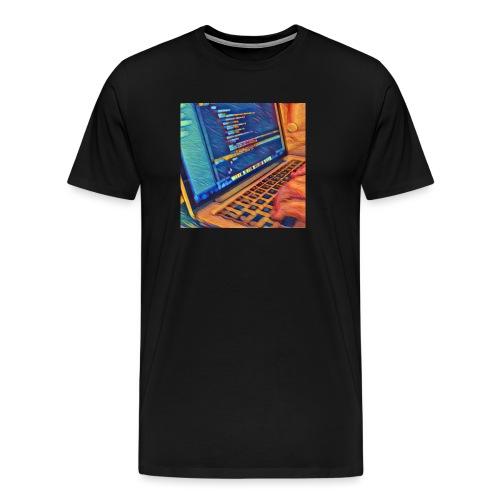 coder_b - Camiseta premium hombre