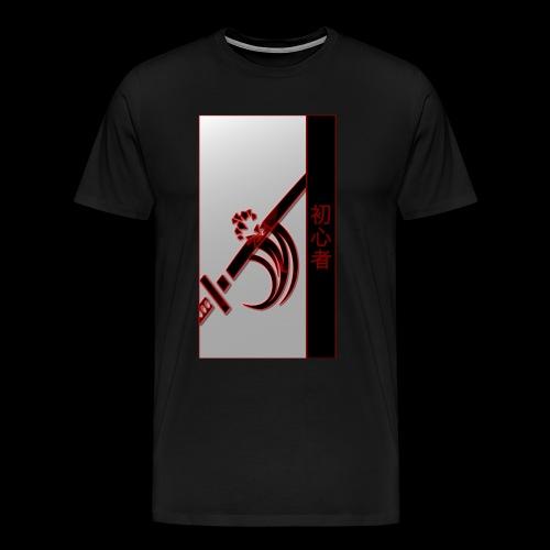 Damage Katana Neon Shirt - Men's Premium T-Shirt