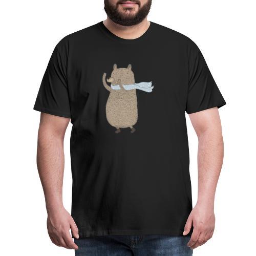 Fluffy Cuddle Bear by #OneCreativeArts - Männer Premium T-Shirt