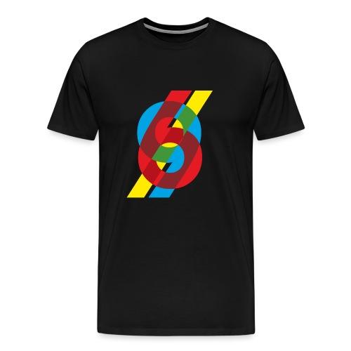 colorful numbers - Men's Premium T-Shirt