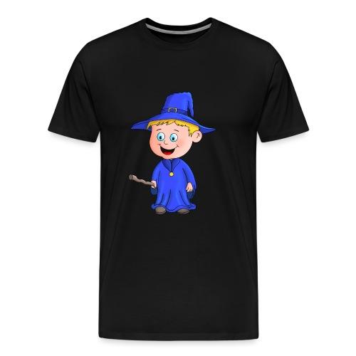Kleiner Zauberer liebt die Zauberei - Männer Premium T-Shirt