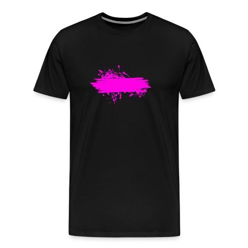 stain fuchsia - Camiseta premium hombre