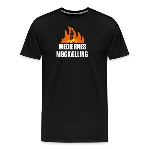 mediernes møgkælling - Herre premium T-shirt