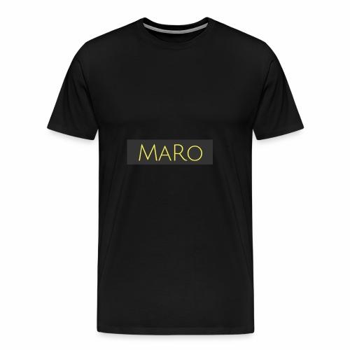 Maro Discret - T-shirt Premium Homme