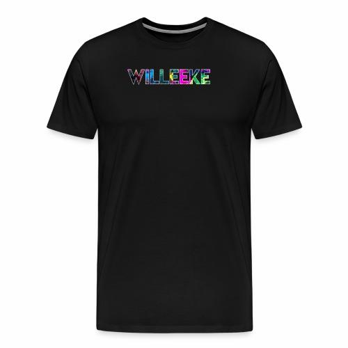 willeeke graffiti whitbar - Premium-T-shirt herr