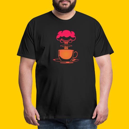 Atom coffee - Premium-T-shirt herr