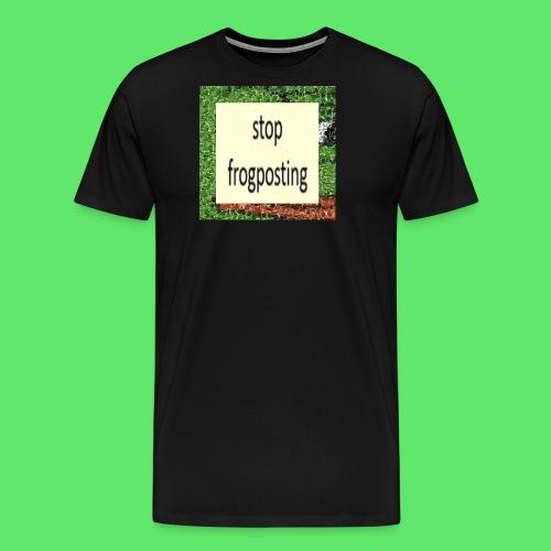 Frogposter - Men's Premium T-Shirt