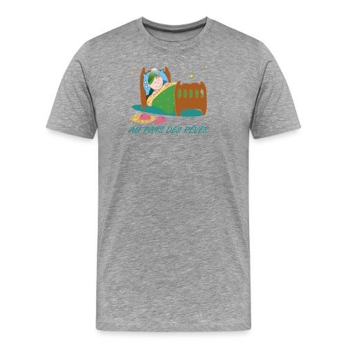 Personnage endormi - T-shirt Premium Homme