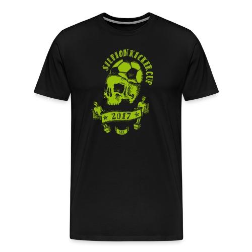 Logo Silpion Kicker Cup 2017 - Männer Premium T-Shirt