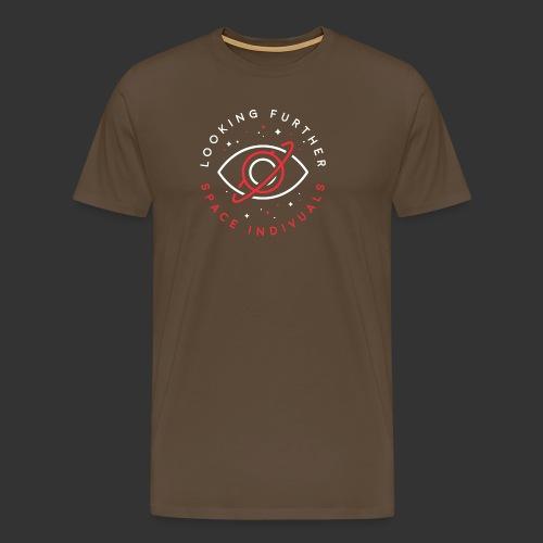 Space Individuals - Looking Farther Black - Men's Premium T-Shirt