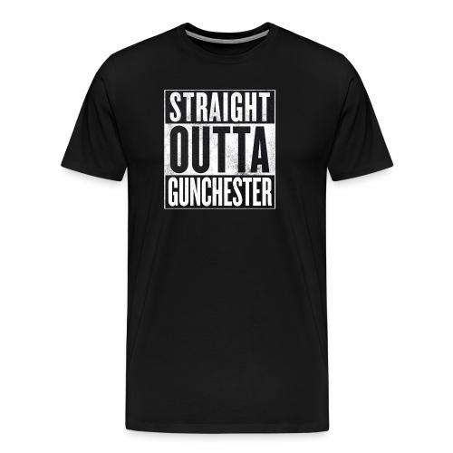 Straight Outta Gunchester - Men's Premium T-Shirt