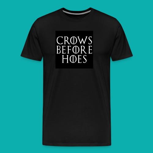Bros before hoes - Mannen Premium T-shirt