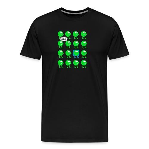We are all green dots! - Männer Premium T-Shirt