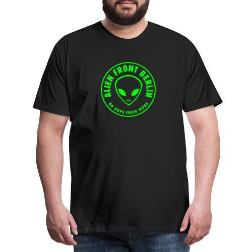 Alien Front Berlin Vektor - Männer Premium T-Shirt