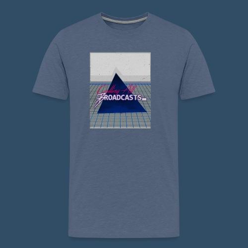 80s Distressed Design - Men's Premium T-Shirt