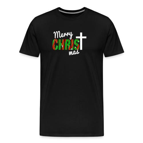 Merry Christmas Pattern - Men's Premium T-Shirt