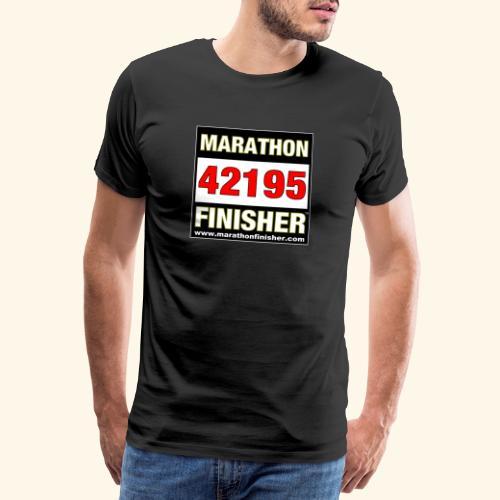 MARATHON FINISHER - Men's Premium T-Shirt