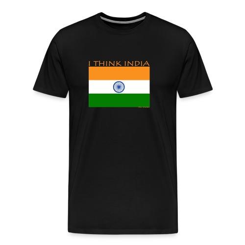 I THINK INDIA - Maglietta Premium da uomo