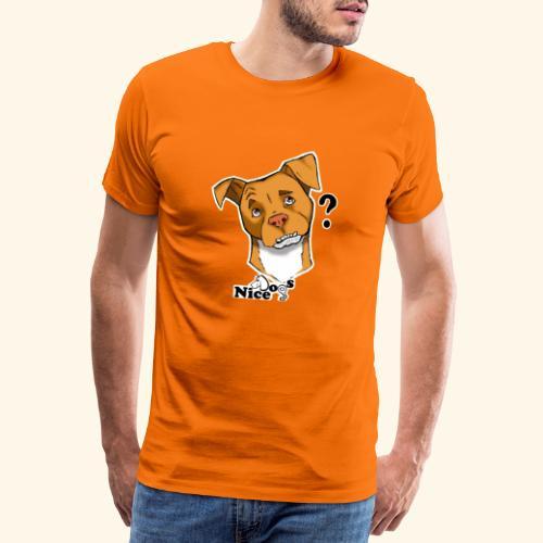 Nice Dogs pitbull 2 - Maglietta Premium da uomo