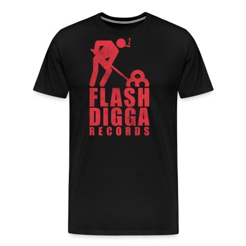 Flashdigga Rot - Männer Premium T-Shirt