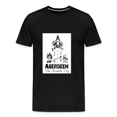 Aberdeen the Granite City - Men's Premium T-Shirt