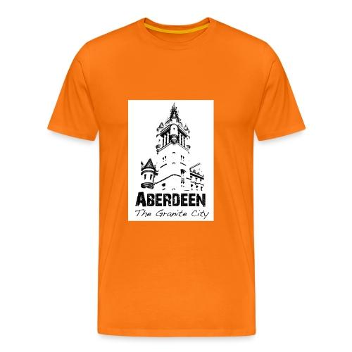 Aberdeen the Granite City - Men's Premium T-Shirt