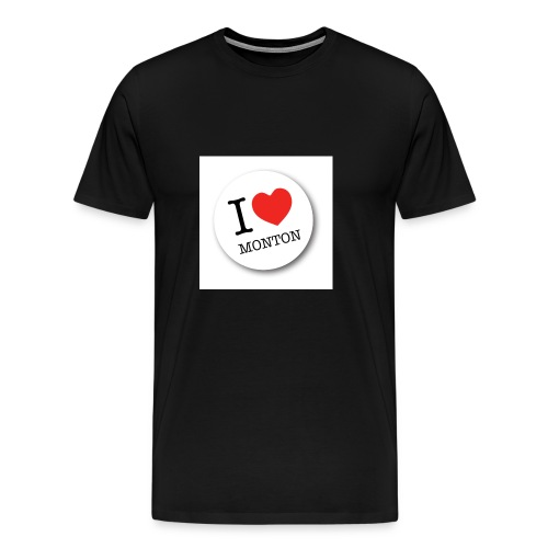 I Love Monton - Men's Premium T-Shirt