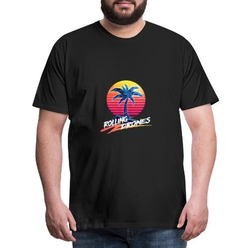 RD Logo Transparent - Men's Premium T-Shirt