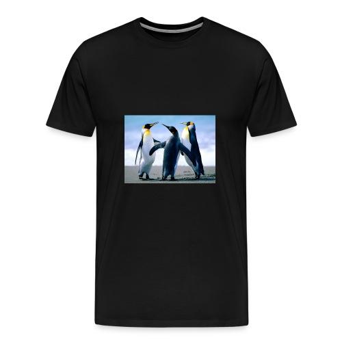 Penguins jpg - Männer Premium T-Shirt