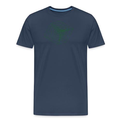 Cubes - T-shirt Premium Homme