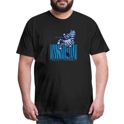 Zebra Code - Men's Premium T-Shirt