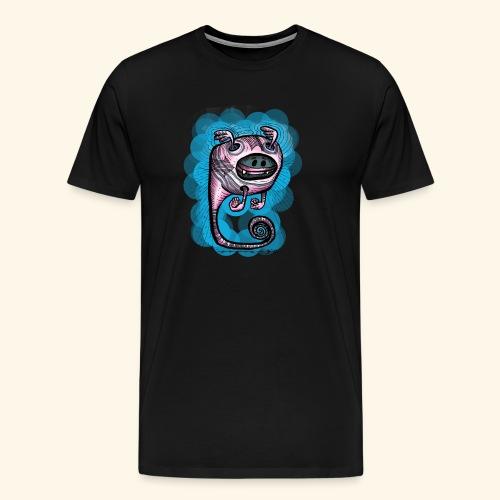 spacebat #1 Blue - Männer Premium T-Shirt