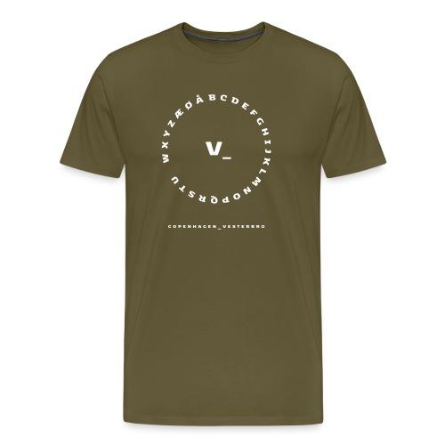 Vesterbro - Herre premium T-shirt