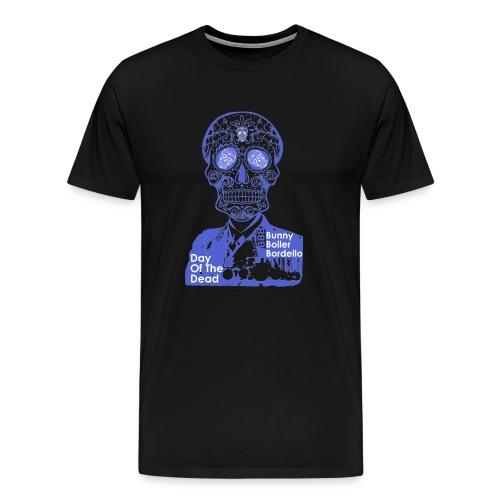 BBB-Day-Of-The-Dead-Blue - Men's Premium T-Shirt