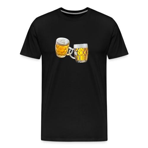 Boccali di birra - Maglietta Premium da uomo