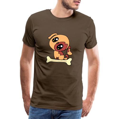Kawaii le chien mignon - T-shirt Premium Homme