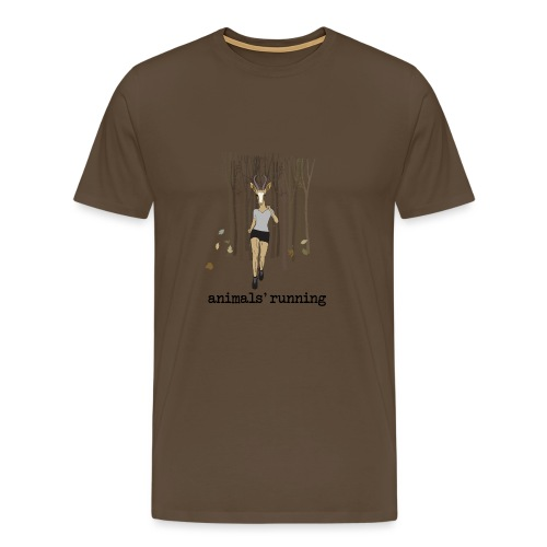 Antilope running - T-shirt Premium Homme