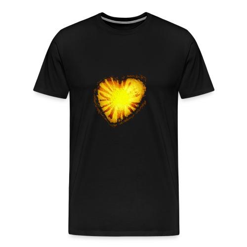 Cuore d'oro - Maglietta Premium da uomo