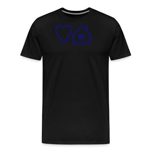 ts3loveprogressivehousev2 - Men's Premium T-Shirt